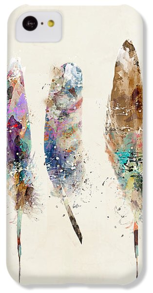 Feathers IPhone 5c Case by Bri B
