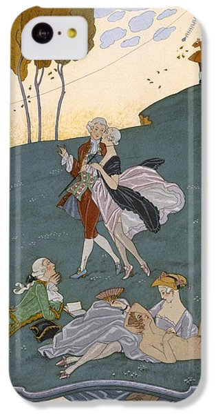 Fetes Galantes IPhone 5c Case by Georges Barbier