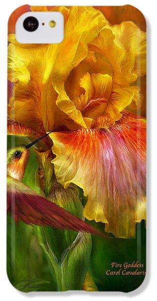 Fire Goddess IPhone 5c Case by Carol Cavalaris