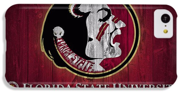 Florida State University Barn Door IPhone 5c Case by Dan Sproul