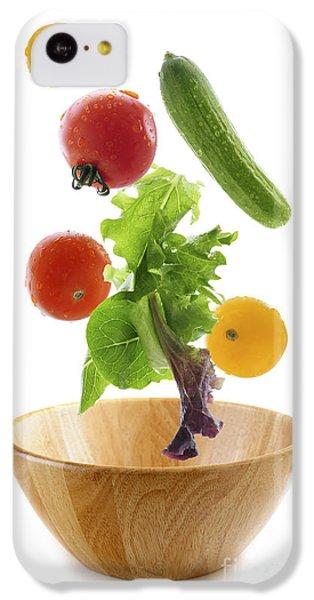 Flying Salad IPhone 5c Case by Elena Elisseeva