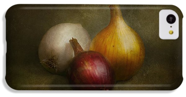 Food - Onions - Onions  IPhone 5c Case by Mike Savad