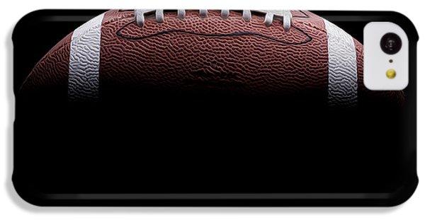 Football Painting IPhone 5c Case by Jon Neidert