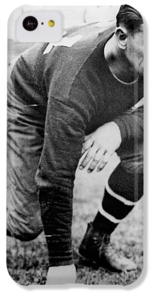 Football Player Jim Thorpe IPhone 5c Case by Underwood Archives