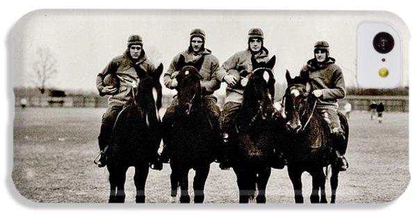 Four Horsemen IPhone 5c Case by Benjamin Yeager