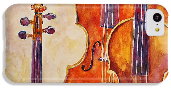 Four Violins IPhone 5c Case by Jenny Armitage