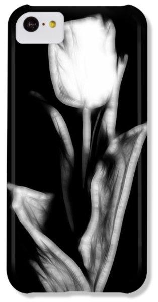 Fractal Tulip IPhone 5c Case by Sebastian Musial