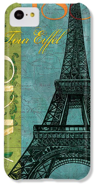 Francaise 1 IPhone 5c Case by Debbie DeWitt