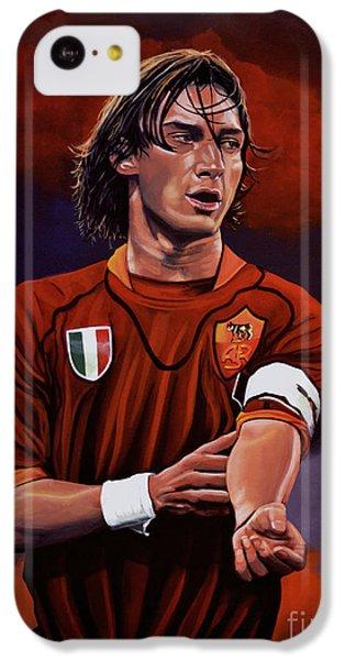 Francesco Totti IPhone 5c Case by Paul Meijering