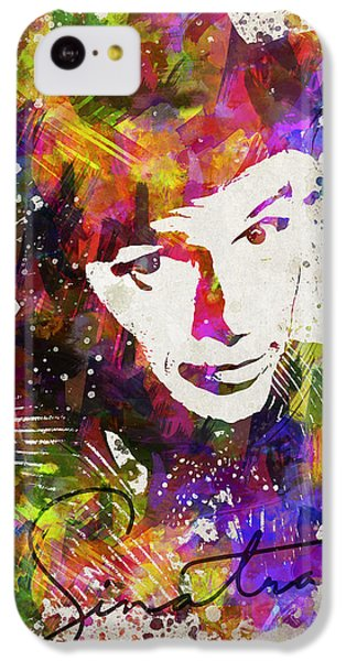 Frank Sinatra In Color IPhone 5c Case by Aged Pixel