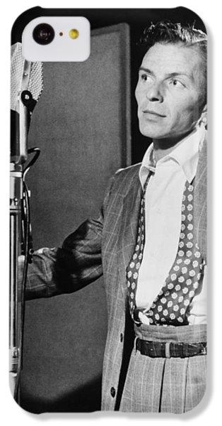 Frank Sinatra IPhone 5c Case by Mountain Dreams