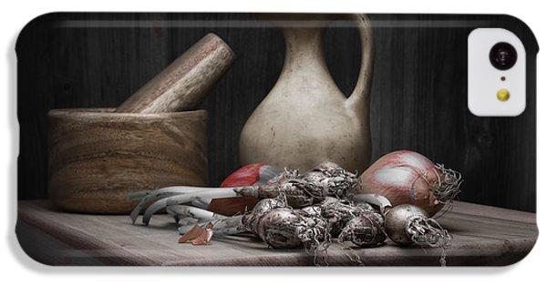 Fresh Onions With Pitcher IPhone 5c Case by Tom Mc Nemar