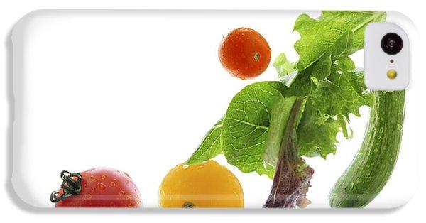 Fresh Vegetables Flying IPhone 5c Case by Elena Elisseeva