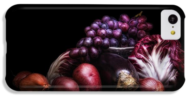 Fruit And Vegetables Still Life IPhone 5c Case by Tom Mc Nemar