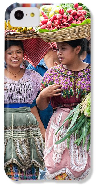Fruit Sellers In Antigua Guatemala IPhone 5c Case by David Smith