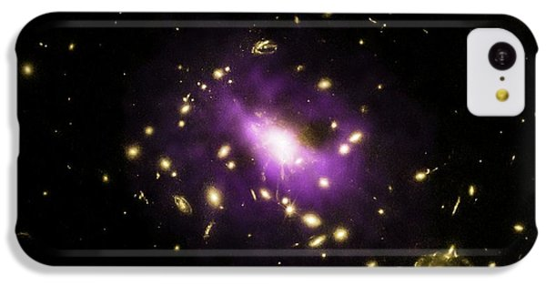 Galaxy Cluster Rx J1532 IPhone 5c Case by Nasa/cxc/stanford/j.hlavacek-larrondo Et Al/esa/stsci/m.postman And Clash Team