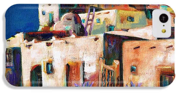 Gateway Into  The  Pueblo IPhone 5c Case by Frances Marino