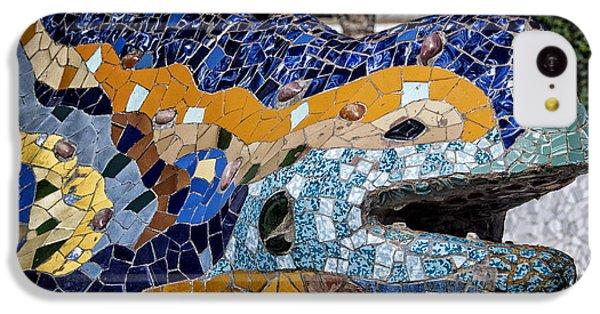Gaudi Dragon IPhone 5c Case by Joan Carroll