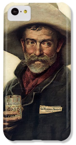 George Wiedemann's Brewing Company C. 1900 IPhone 5c Case by Daniel Hagerman