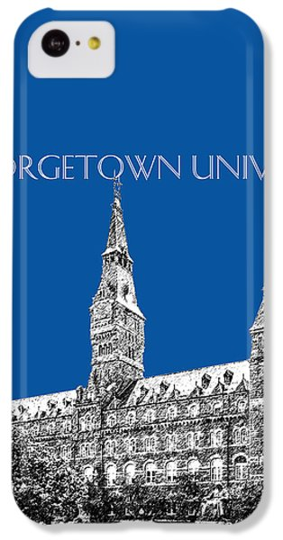Georgetown University - Royal Blue IPhone 5c Case by DB Artist