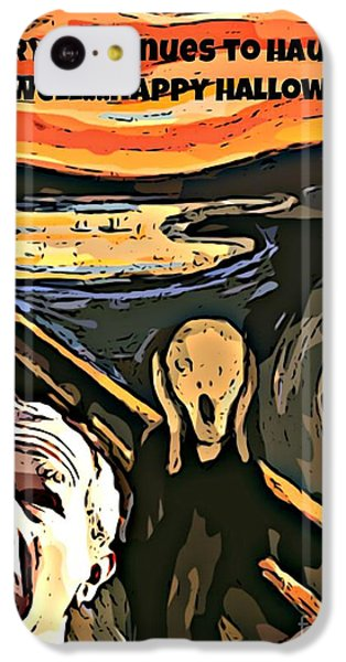 Ghosts Of The Past IPhone 5c Case by John Malone