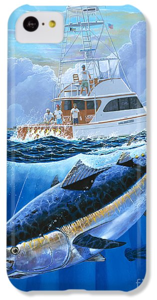Giant Bluefin Off00130 IPhone 5c Case by Carey Chen