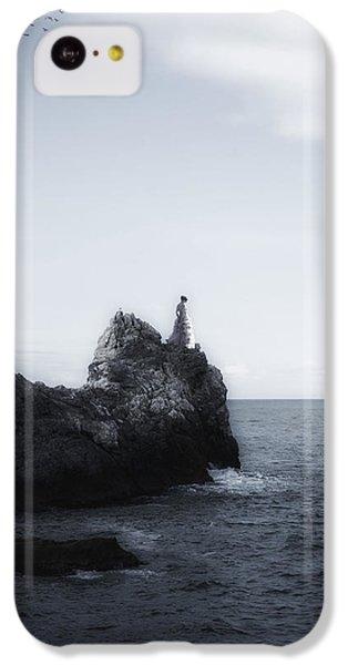 Girl On Cliffs IPhone 5c Case by Joana Kruse