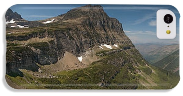 Glacier National Park Panorama IPhone 5c Case by Sebastian Musial