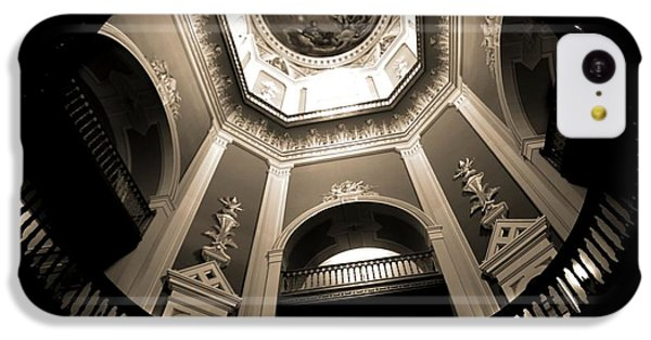 Golden Dome Ceiling IPhone 5c Case by Dan Sproul