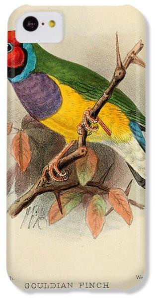 Gouldian Finch IPhone 5c Case by J G Keulemans