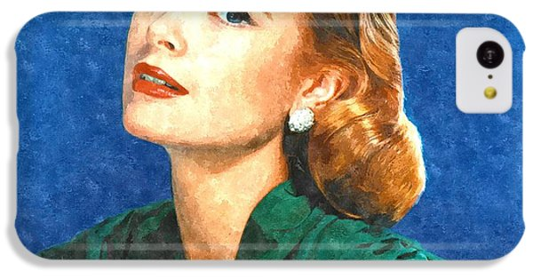 Grace Kelly Painting IPhone 5c Case by Gianfranco Weiss