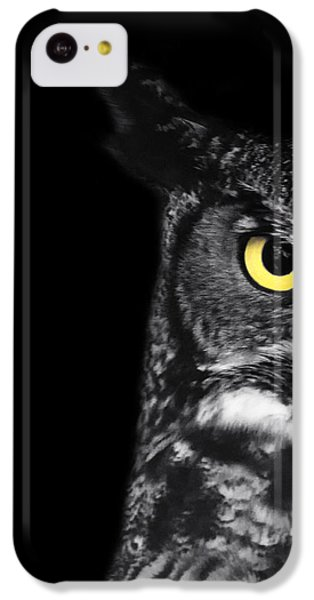 Great Horned Owl Photo IPhone 5c Case by Stephanie McDowell