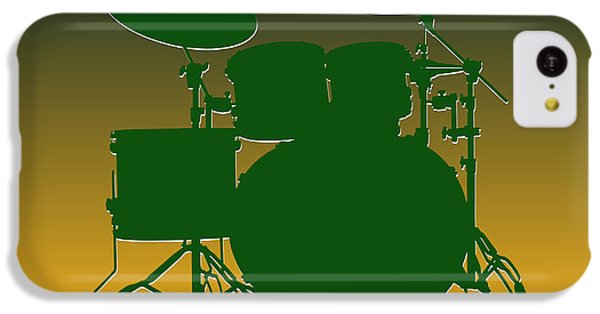 Green Bay Packers Drum Set IPhone 5c Case by Joe Hamilton