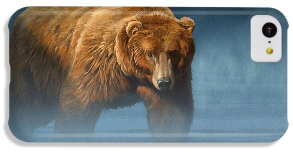 Grizzly Encounter IPhone 5c Case by Aaron Blaise