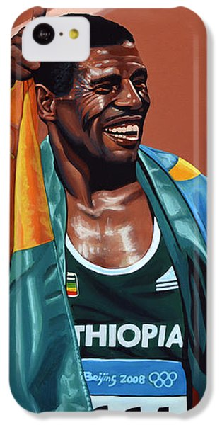 Haile Gebrselassie IPhone 5c Case by Paul Meijering