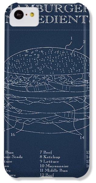 Hamburger IPhone 5c Case by Aged Pixel