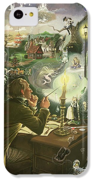 Hans Christian Andersen IPhone 5c Case by Anne Grahame Johnstone