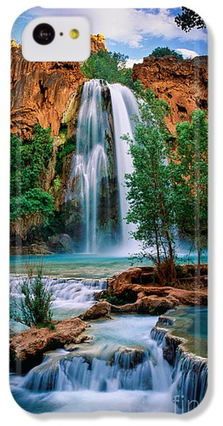 Havasu Cascades IPhone 5c Case by Inge Johnsson