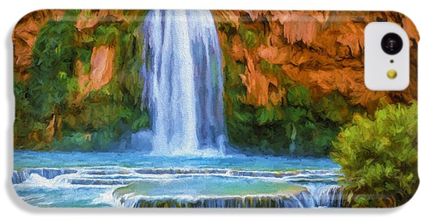 Havasu Falls IPhone 5c Case by David Wagner