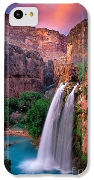 Havasu Falls IPhone 5c Case by Inge Johnsson
