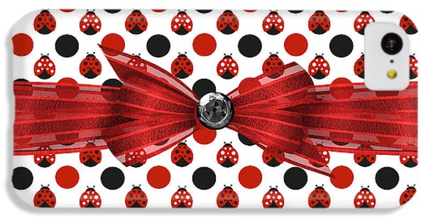 Healing Ladybugs IPhone 5c Case by Debra  Miller