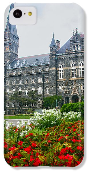 Healy Hall IPhone 5c Case by Mitch Cat