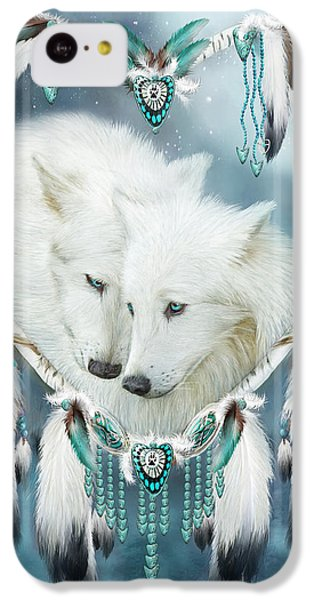 Heart Of A Wolf IPhone 5c Case by Carol Cavalaris