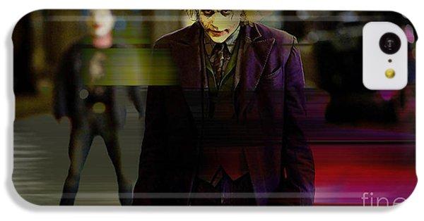 Heath Ledger IPhone 5c Case by Marvin Blaine