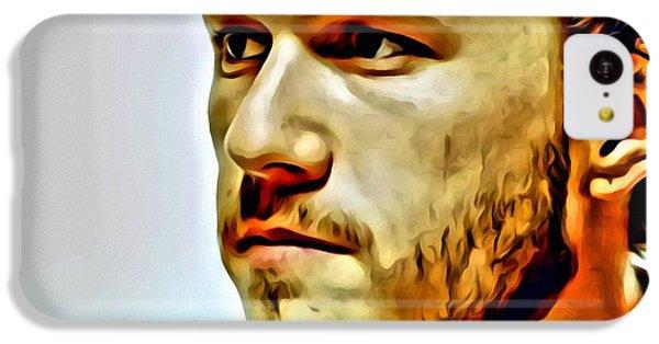 Heath Ledger Portrait IPhone 5c Case by Florian Rodarte