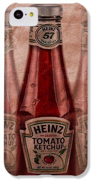 Heinz Tomato Ketchup IPhone 5c Case by Dan Sproul