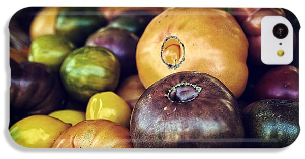 Heirloom Tomatoes At The Farmers Market IPhone 5c Case by Scott Norris