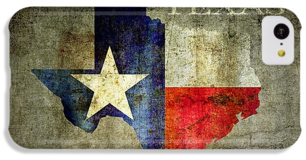 Hello Texas IPhone 5c Case by Daniel Hagerman
