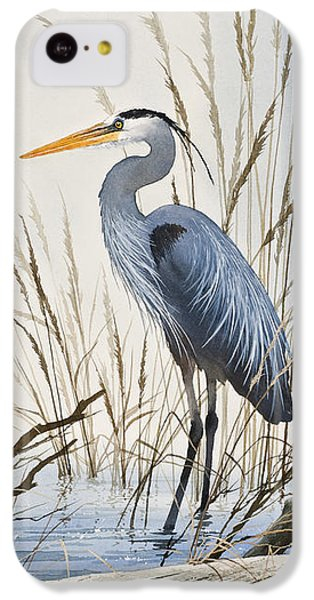 Herons Natural World IPhone 5c Case by James Williamson