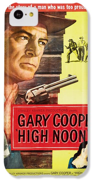 High Noon - 1952 IPhone 5c Case by Georgia Fowler